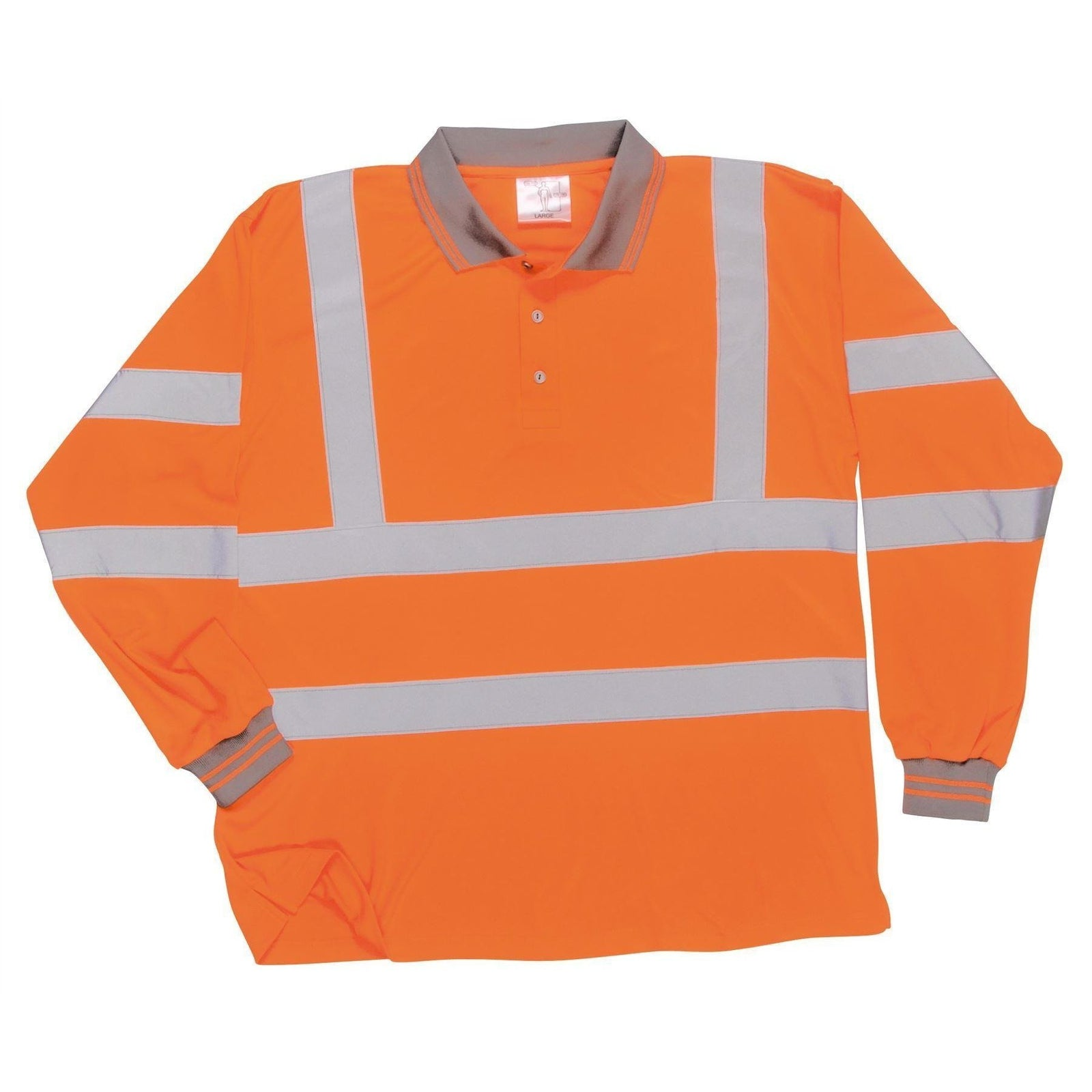 Portwest Hi-Vis Long Sleeved Polo S277 - reid outdoors