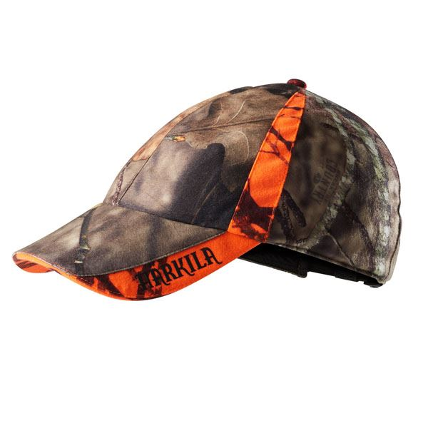 Harkila Moose Hunter Cap - Mossy Oak Break-up Country /Mossy Oak Orange Blaze