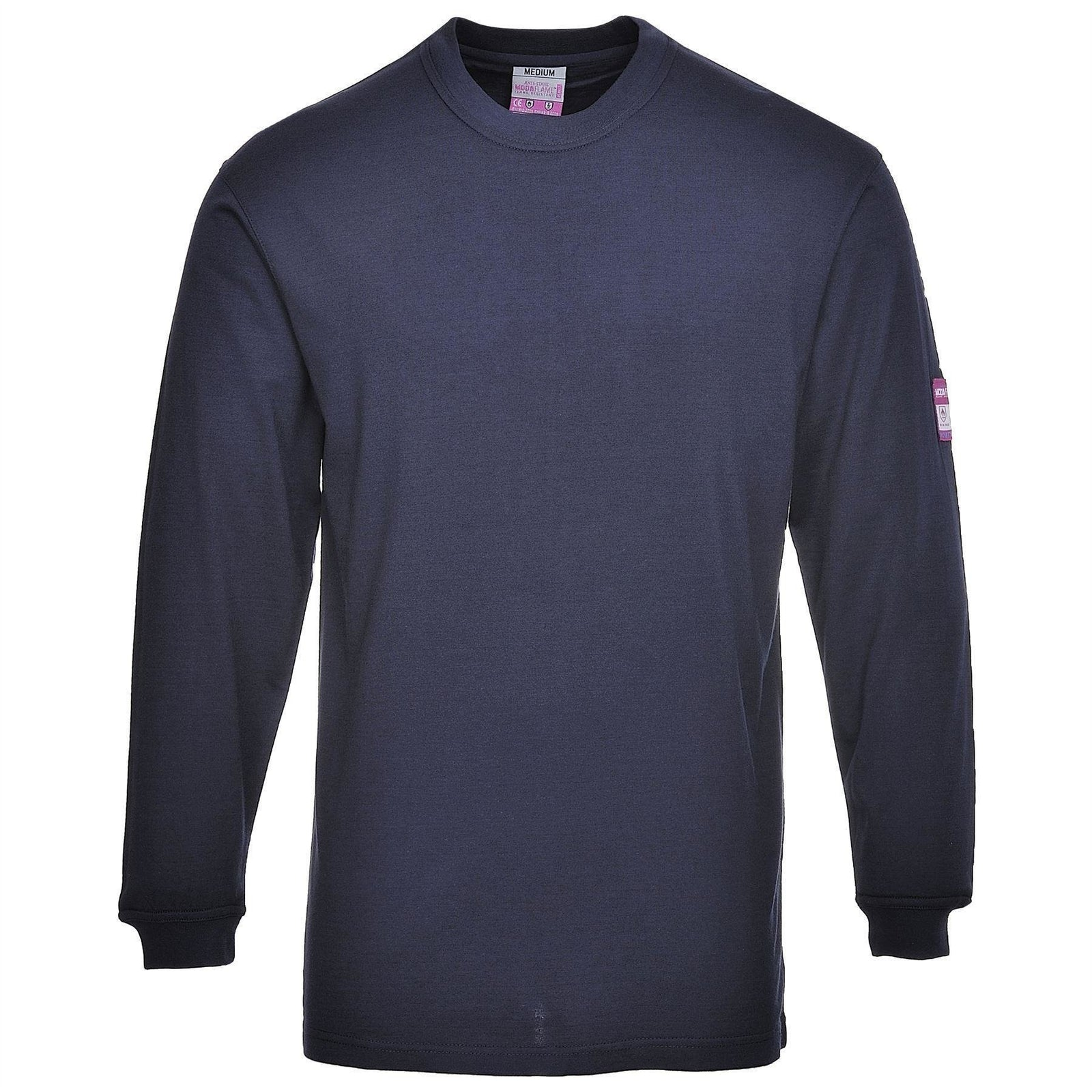 Portwest Flame Resistant Anti-Static Long Sleeve T-Shirt FR11 - reid outdoors