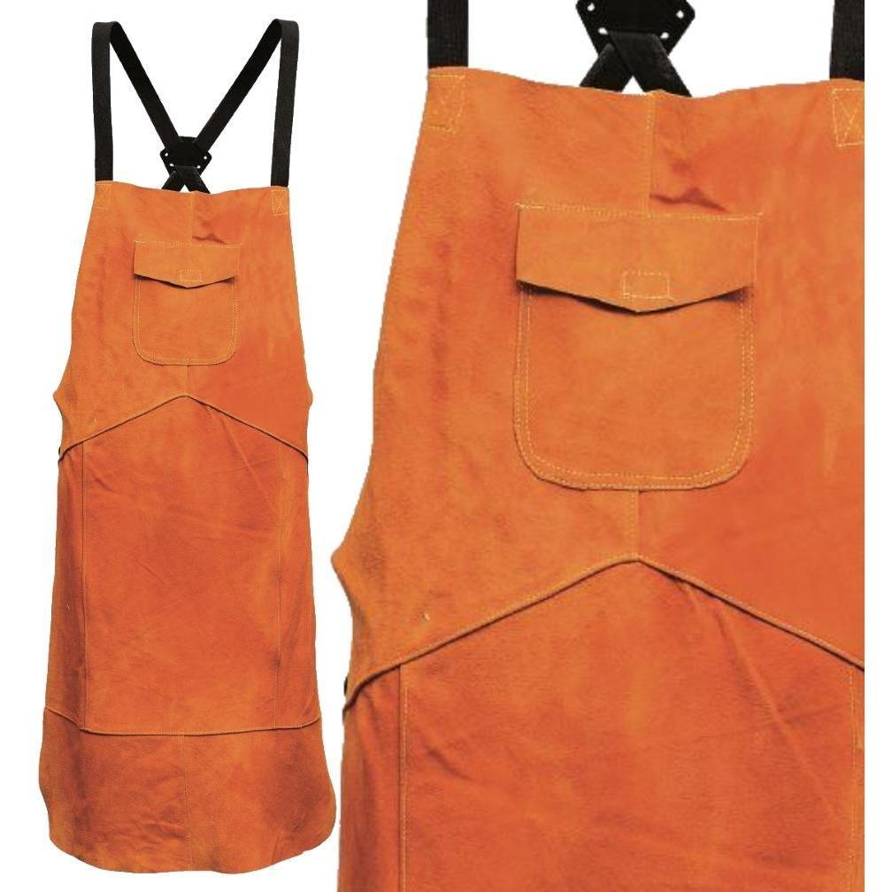 Portwest Leather Welding Apron Tan One Size Regular SW10 - reid outdoors