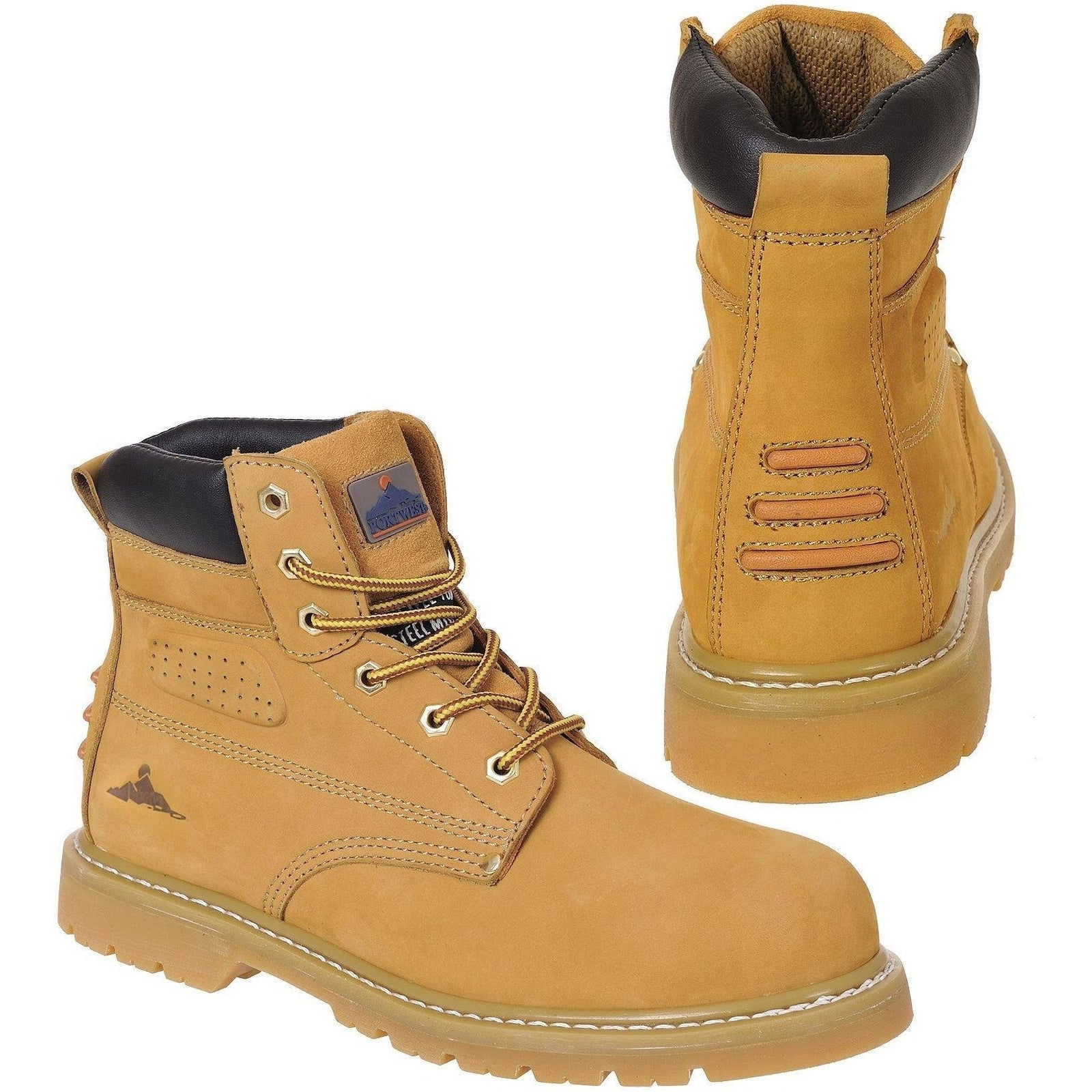 Portwest Steelite Welted Plus Safety Boot SBP HRO FW35 - reid outdoors