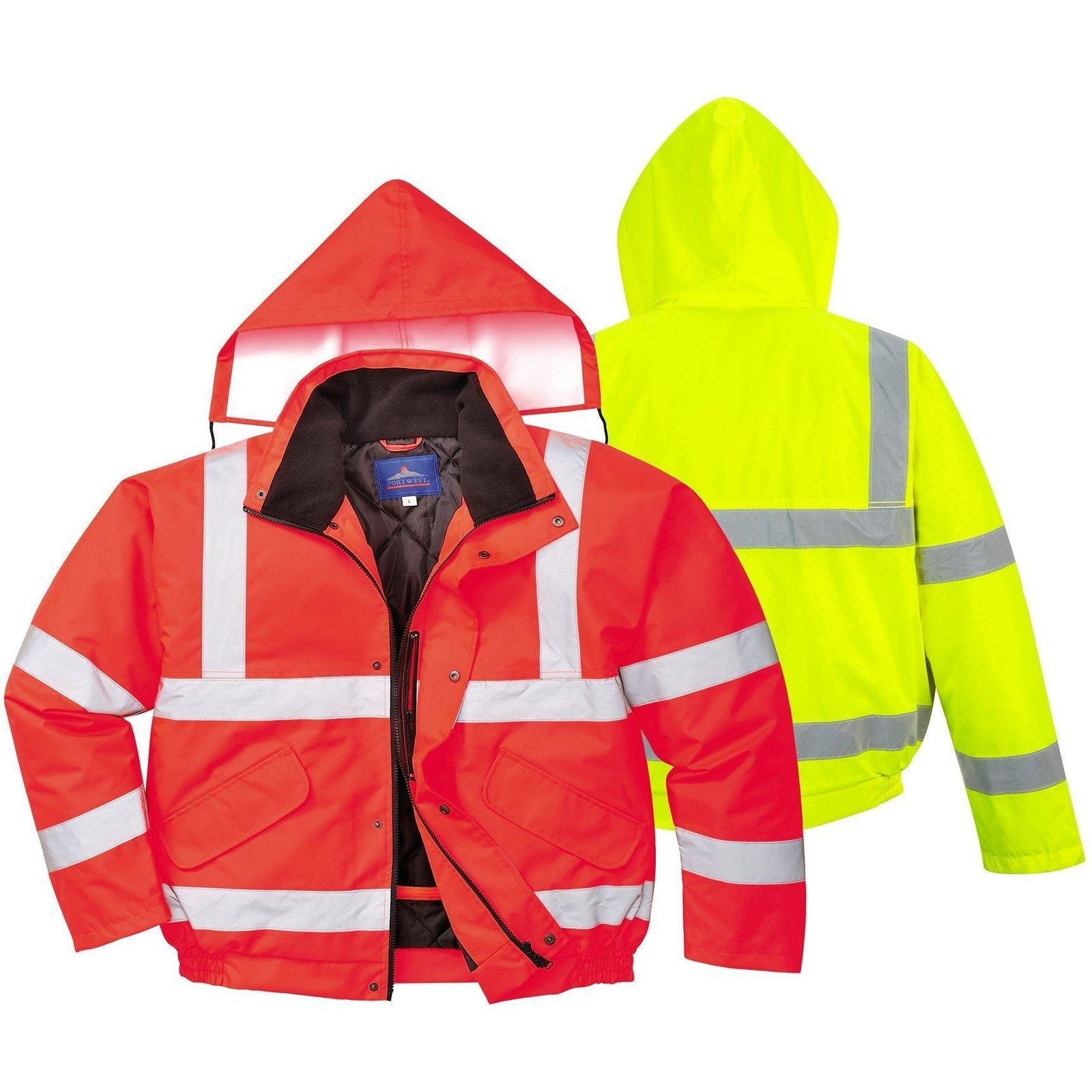 Portwest Hi-Vis Bomber Jacket S463 - reid outdoors