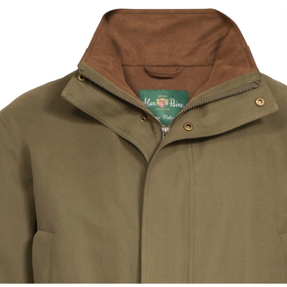 Berwick Mens Waterproof Shooting Coat - Shooting Fit Olive - reid outdoors