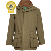 Alan Paine Dunswell Mens Waterproof Jacket - Shooting Fit - Olive