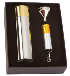 Cartridge Flask & Torch Gift Set by Bisley - reid outdoors