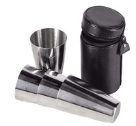 8oz Hunters Flask & Cup Set by Bisley