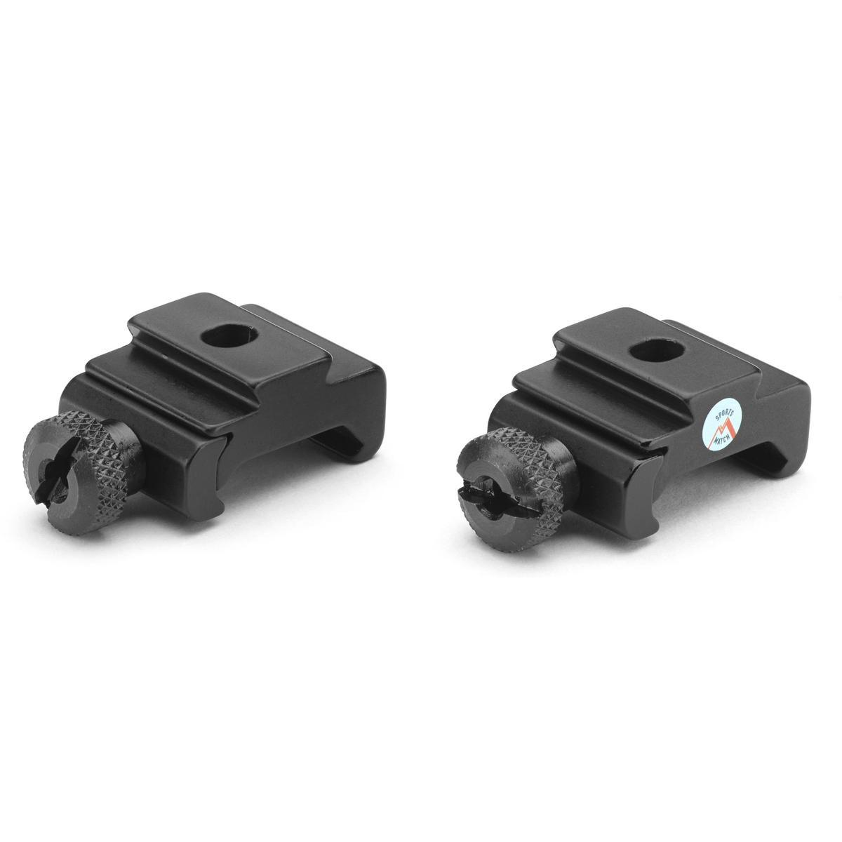 RB6 Weaver/Picatinny to Dovetail Adaptors Pair by Bisley - reid outdoors