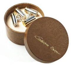 Cufflinks Silver Plated-Salmon or Cartridges - reid outdoors