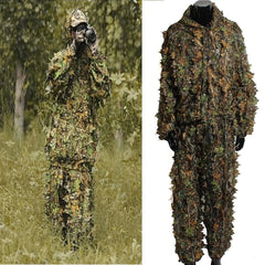 3D Camo Ghillie Suit - Sizes: L, XL, 2XL and 3XL (Shooting/ Hunting) - reid outdoors