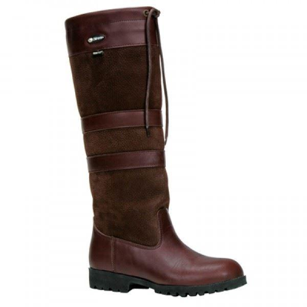 Chiruca Ladies Chelsea Wide Fit Boot - Chocolate - reid outdoors