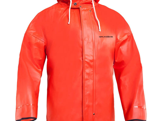 GRUNDENS HARVESTOR 40 ORANGE JACKET