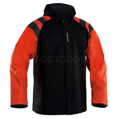 Grundens Balder Jacket 302/320 - Black/Orange