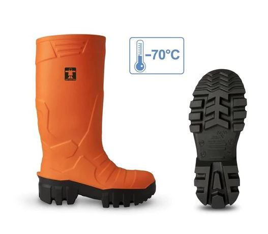 Guy Cotten GC Thermo Boot - Orange - reid outdoors
