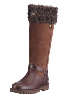 Le Chameau Jameson Zip GTX Brown- Dark Brown (Plain or Fur Lined)