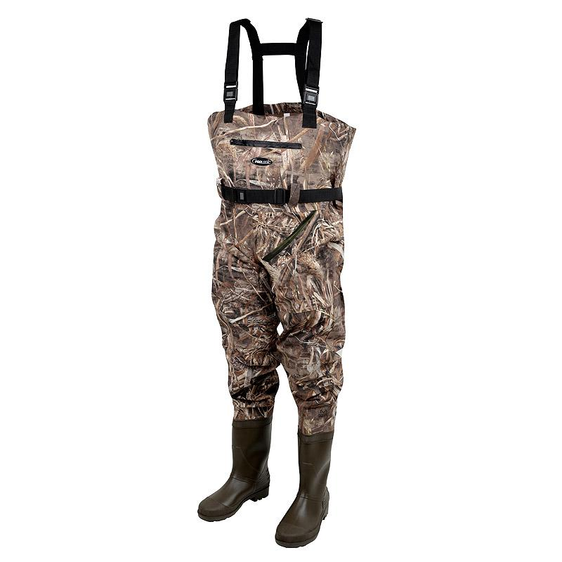 Prologic Max5 Nylo-Stretch Chest Wader w/Cleated - reid outdoors