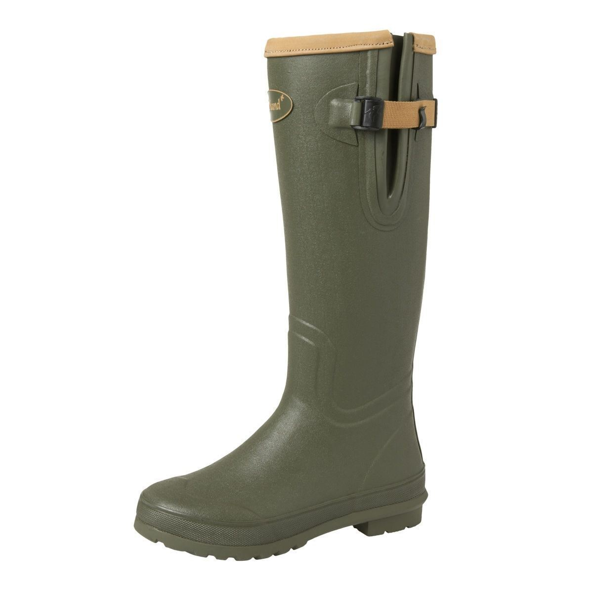 "Seeland CountryLife Lady 16"" CS Wellington Boots - Olive"