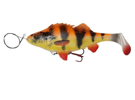 Savage Gear 4D Perch Shad 12.5cm 25g SS 03-Albino Lure