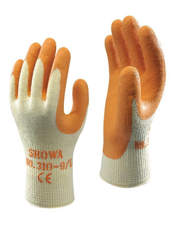 Showa 310 Orange Grip Glove (9/L) - reid outdoors