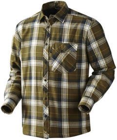 Seeland Moscus Shirt - Mossy Green Check