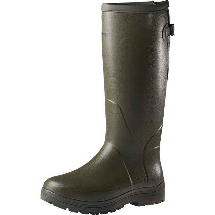 "Seeland WOODCOCK AT+ 18"" 5mm Wellington Boots - Dark Green - reid outdoors"