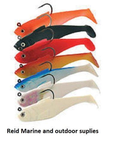 "5"" Super Solid Shads (3 Pack) - reid outdoors"