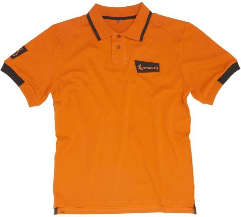 Browning Ultra Polo Shirt Dark Orange