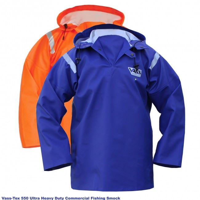 Vass-Tex 550 Series Extreme Waterproof Smock - Royal Blue