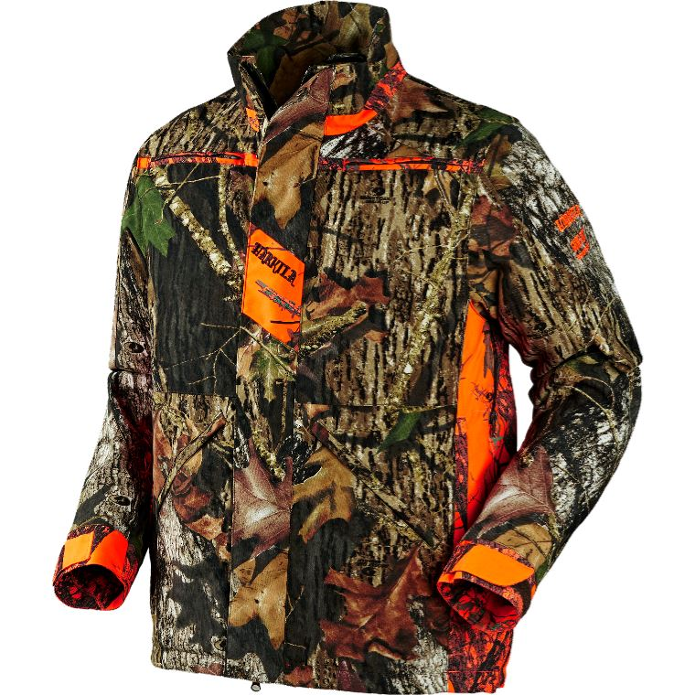 Harkila Pro Hunter Dog Keeper Jacket - Mossy Oak New Break-Up / Mossy Oak Orange Blaze