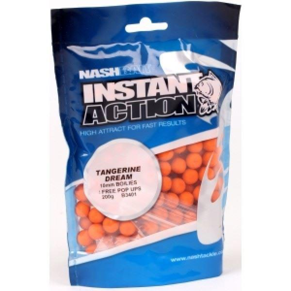 Nash Bait Instant Action Boilies 15mm 1kg Bag - reid outdoors