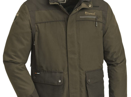 PINEWOOD WOLF LITE JACKET - HUNTING BROWN/SUEDE BROWN