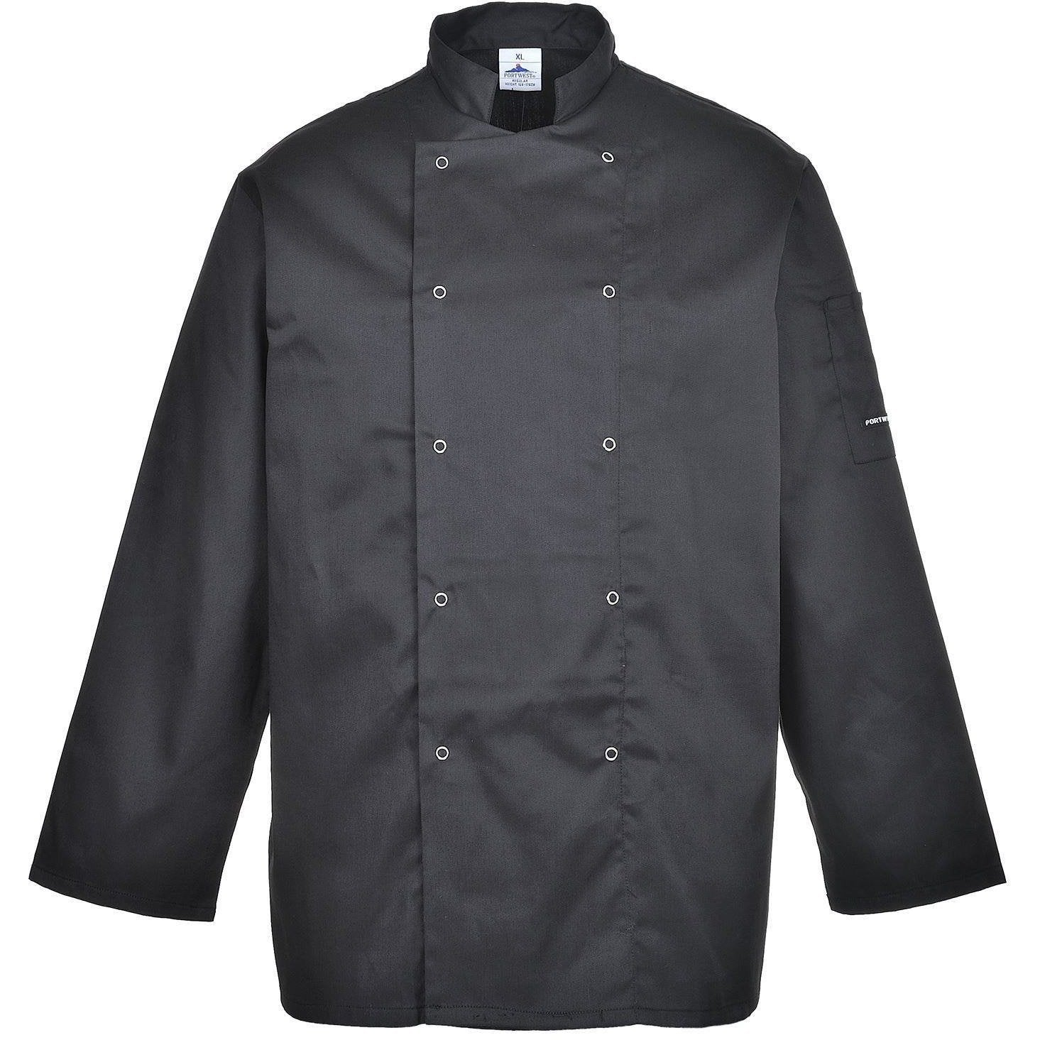 Portwest Suffolk Chefs Jacket C833 - reid outdoors