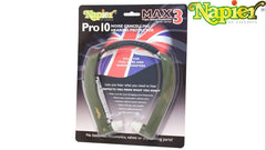 GENUINE NAPIER PRO 10 MAX 3 EAR DEFENDERS HEARING PROTECTION NOISE CANCELLING - reid outdoors