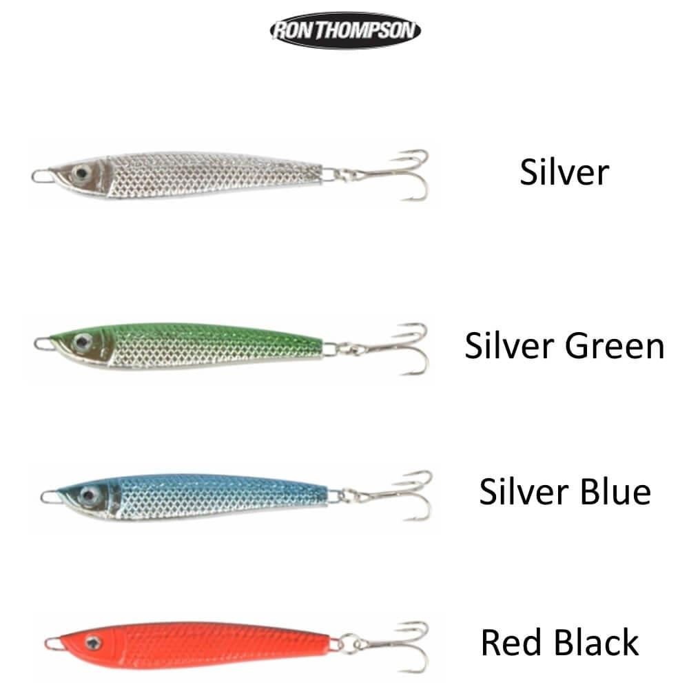 Ron Thompson Sea Jig 40G 4 Pack Mixed Colours