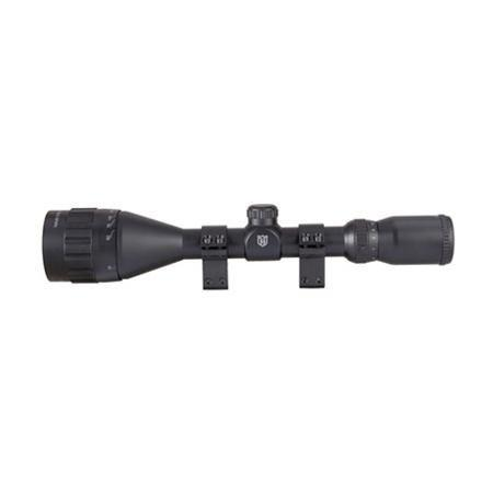 NIKKO STIRLING MOUNTMASTER AO ILL 4-12X50 SCOPE HALF MIL DOT - reid outdoors