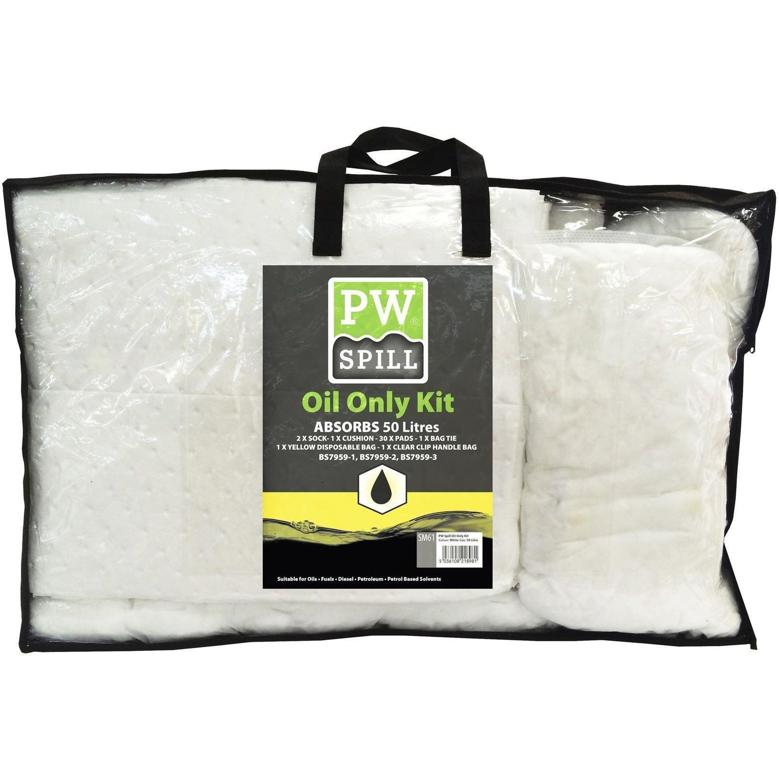Portwest PW Spill 50 Litre Oil Only Kit  SM61 - reid outdoors