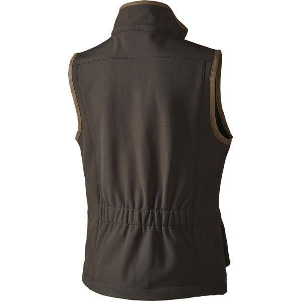 Seeland WINSTER Softshell Kids Waistcoat - Black Coffee - reid outdoors
