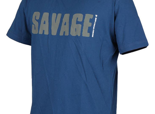 Savage Gear Simply Savage Tee - Blue