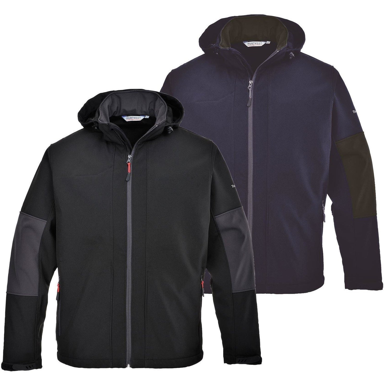 Portwest Softshell with Hood (3L) TK53 - reid outdoors