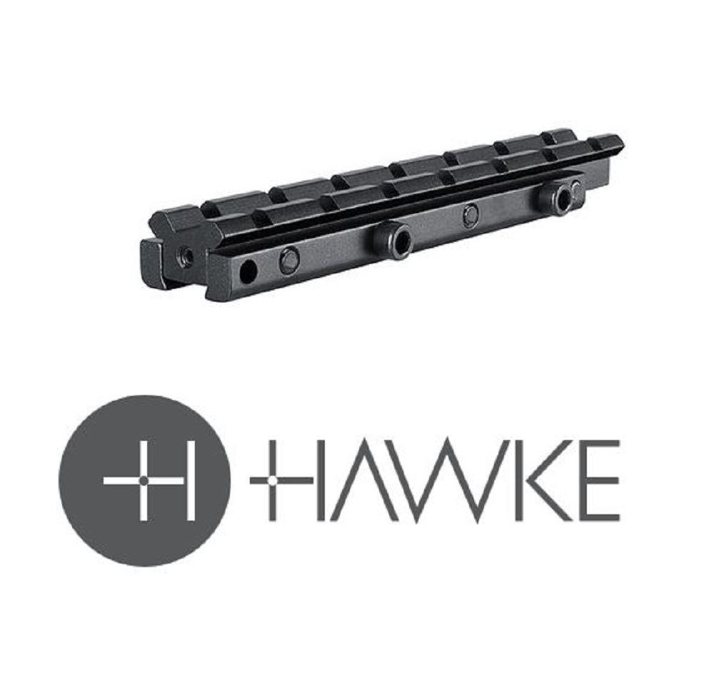 "Hawke Adaptor Base 1 Piece 3/8"" Rifle to Weaver Elevated - reid outdoors"