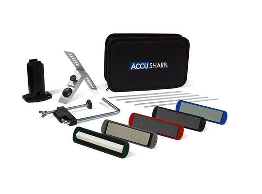 AccuSharp 5-Stone Precision Kit (059C) - reid outdoors