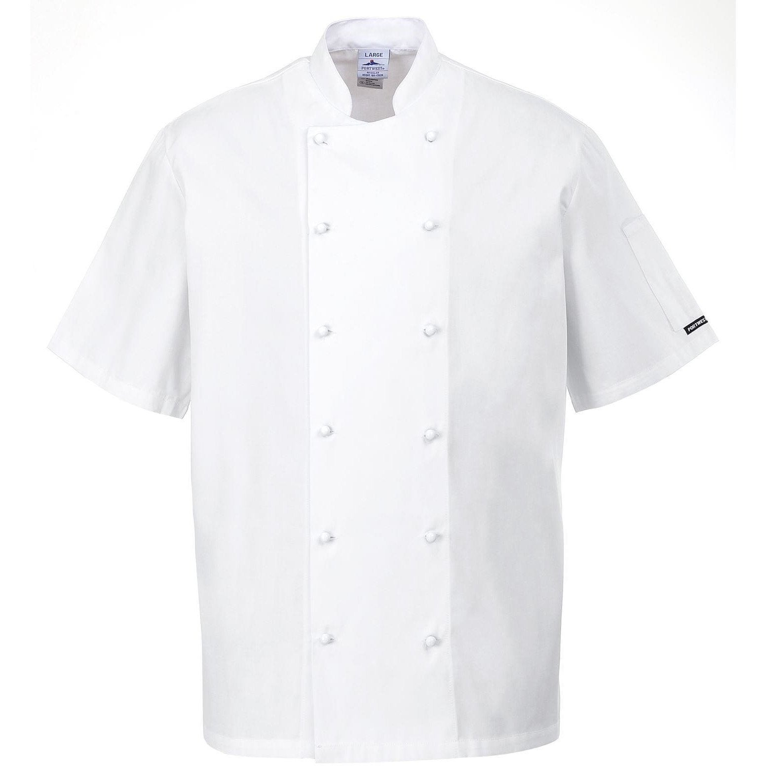 Portwest Newport Chefs Jacket C772 - reid outdoors