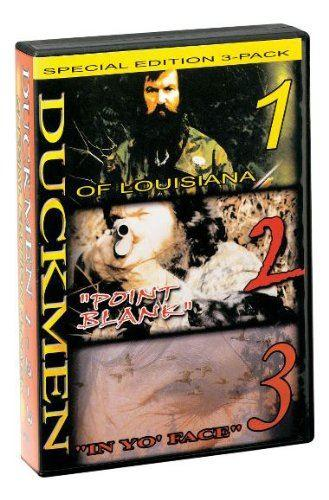 "Duck Commander DVD Duckmen 1, 2, 3 ""In YO Face"" Special Edition 3-pack - reid outdoors"
