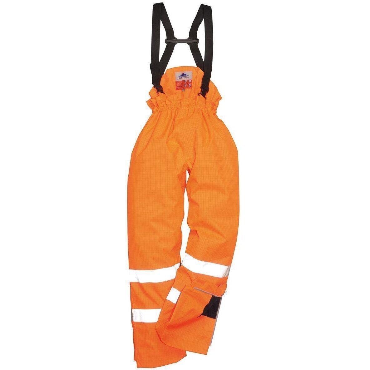 Portwest Bizflame Rain Lined- Hi-Vis Antistatic FR Trouser S781 - reid outdoors