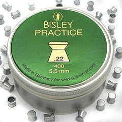 Bisley Practice Airgun Pellets .22