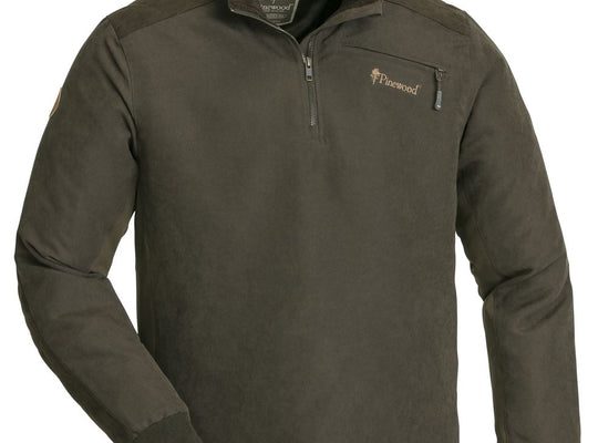 PINEWOOD PRESTWICK SWEATER - SUEDE BROWN