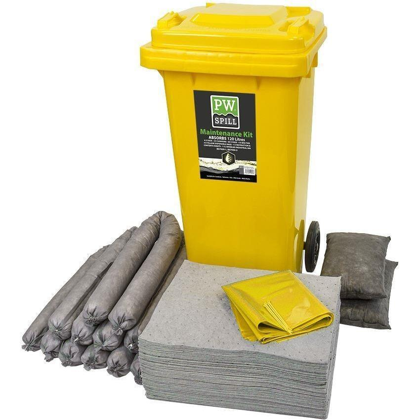 Portwest PW Spill 120 Litre Maintenance Kit SM33 - reid outdoors