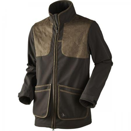 Seeland WINSTER Softshell Jacket - Black Coffee - reid outdoors