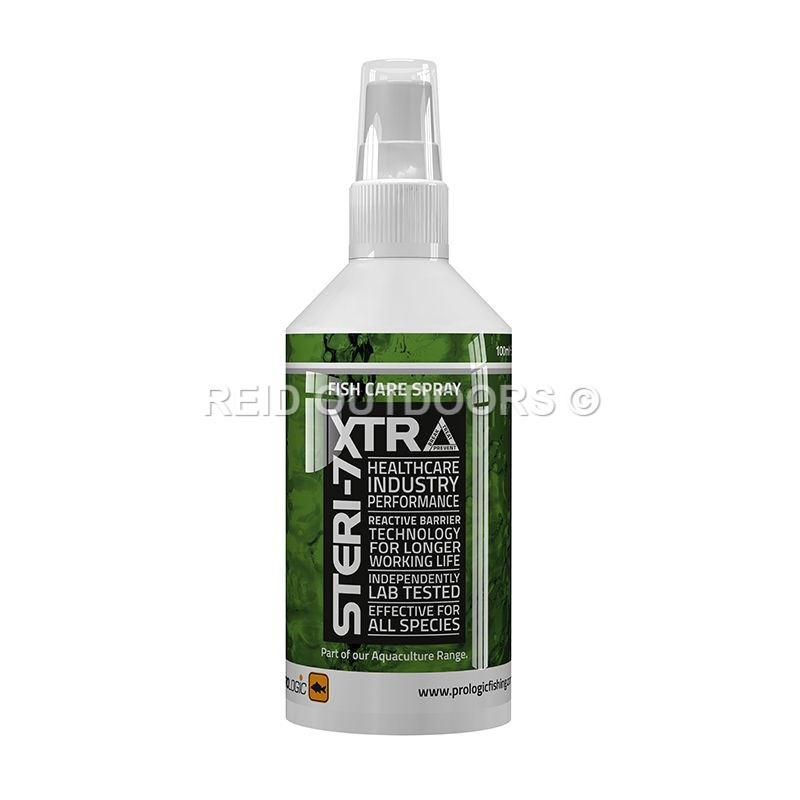 Prologic Steri-7 Xtra Fish Care Spray - 100ml (51397) (Over 25mm) - reid outdoors