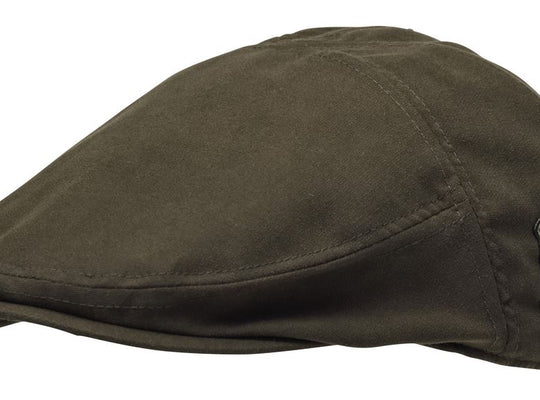 PINEWOOD YORK SIXPENCE CAP - SUEDE BROWN