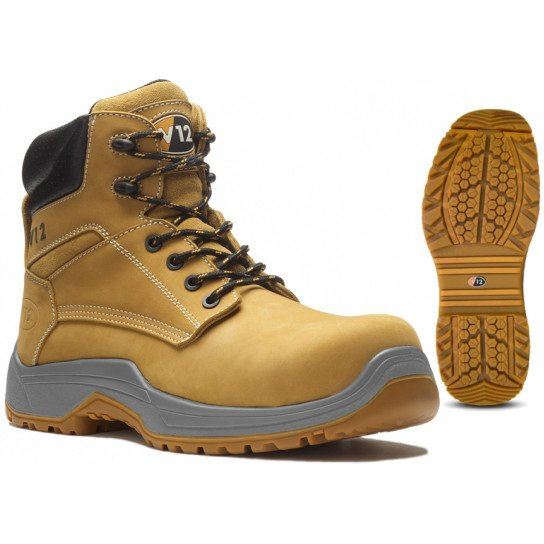 V12 Puma IGS Nubuck Derby Boot - Honey
